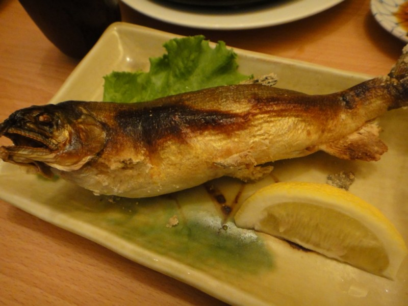 Grilled Ayu Fish