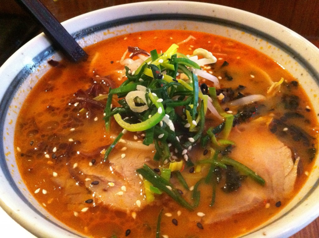 Miso Ramen with Chasu Pork
