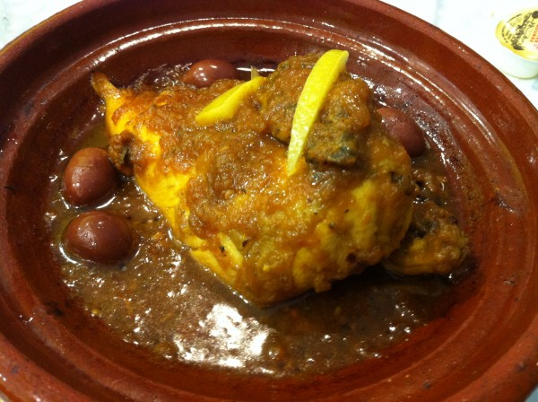Tagine With Olives and Lemons