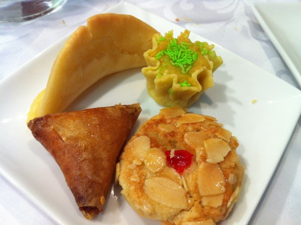 Traditional Morrocan Desserts: Almond, Pistachio, Rosewater Cookies