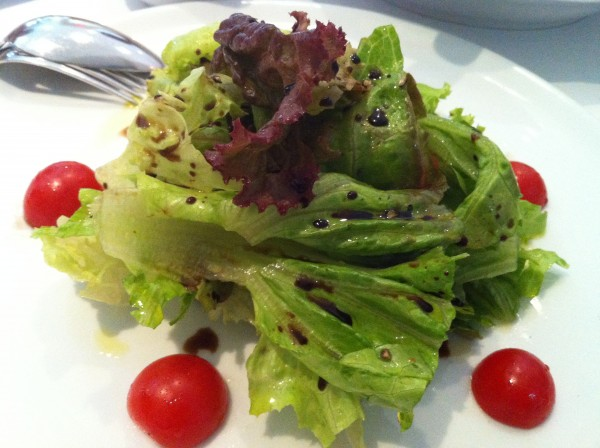 House Salad with Pecorino Cheese