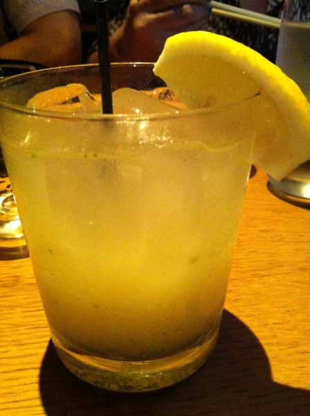 "Seppun - shiso leaf, grapefruit juice & yuzu juice with""Takara Jun 35"" shochu"