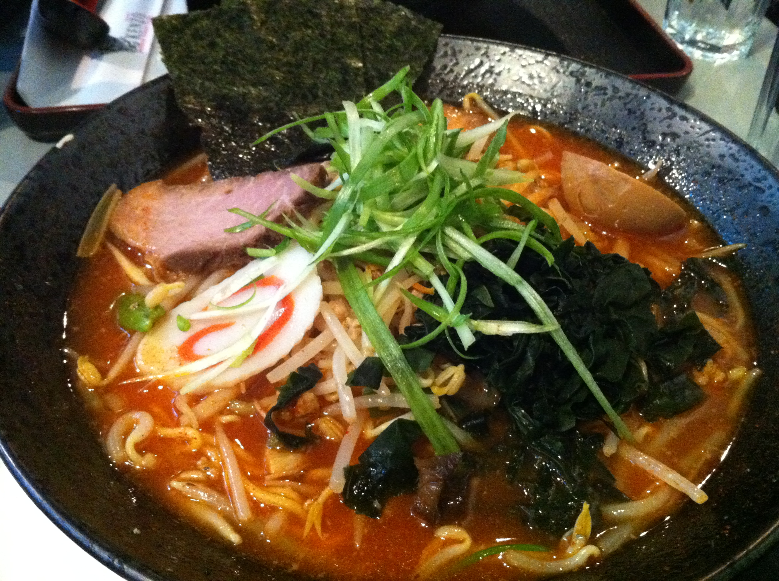 King of Kings Ramen: Hot Netsu Ramen With 5 Toppings
