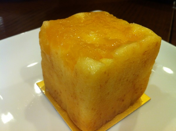 Cubed Apple Cake