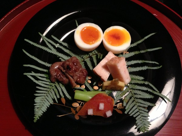 Boiled Egg, Karasumi Eggs, Duck, Shrimp Cake