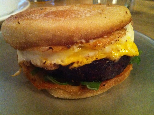 Blood Sausage McMuffin