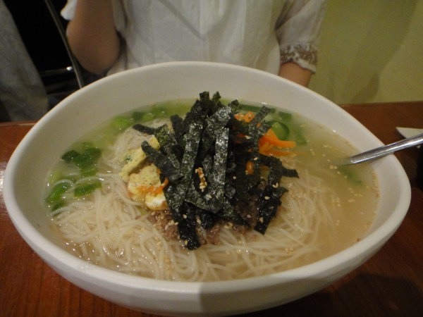 Janchi Guksu: Noodles in Homemade Crab Broth