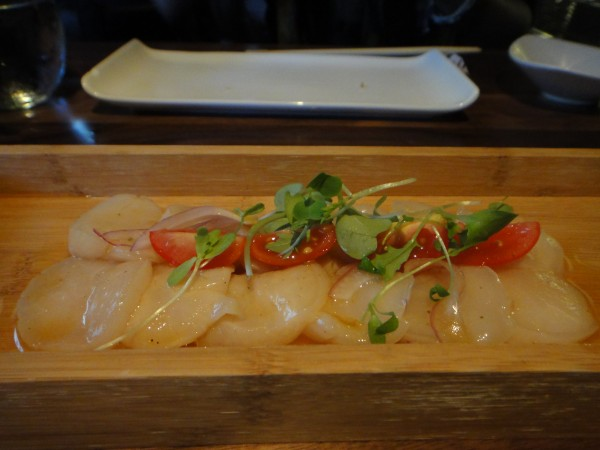 kyo montreal Scallop Ceviche with Yuzu