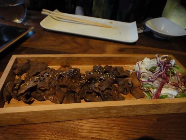 kyo montreal Gyutan: Cow's Tongue