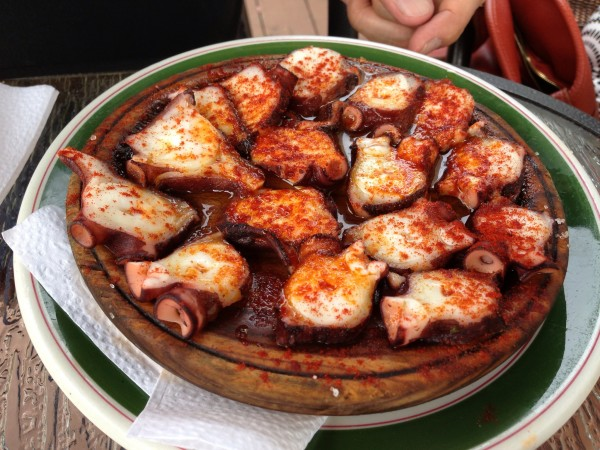 Pulpo a la Gallega: Poached Octopus, Sea Salt and Paprika