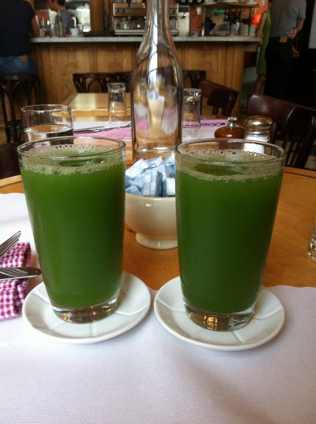 cafe gitane Cucumber, Mint Juice