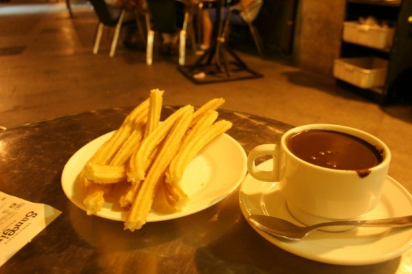 san gines madrid Churros and Chocolate