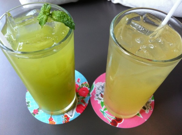Santa Barbara MontrealCucumber Mint, Pineapple Chili Soda