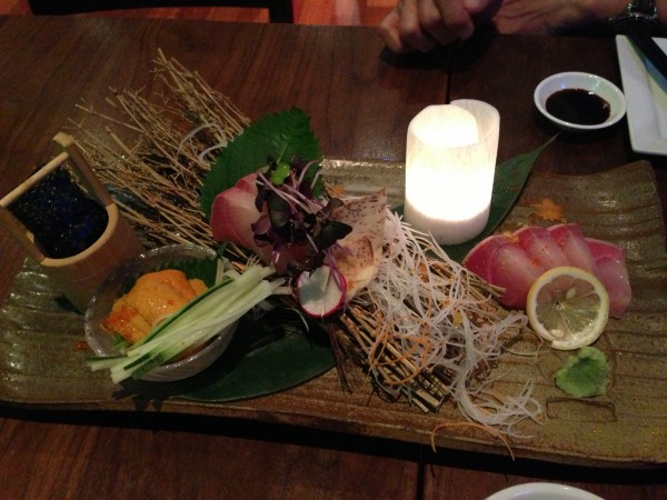 Kingyo Toronto Sashimi Assortment