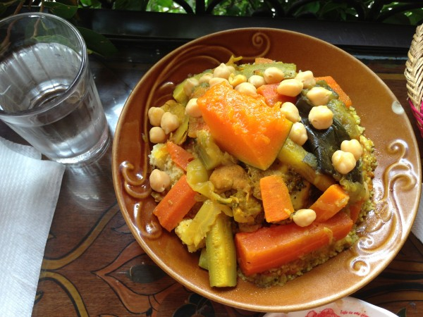 Chicken Couscous with Vegetables