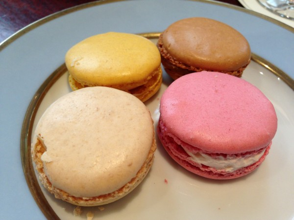 Laduree Paris Lemon, Salted Caramel, Orange Blossom, Rose Petal Macarons