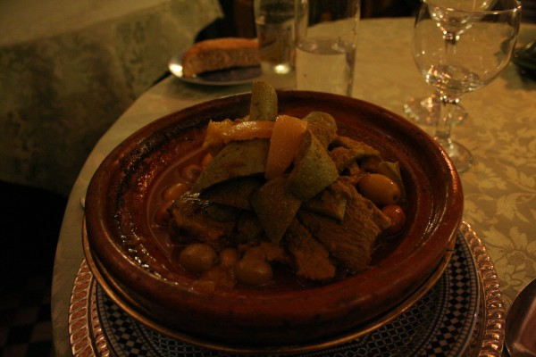 Dar Essalam Tagine of Beef with Vegetables