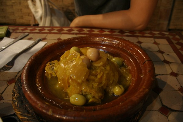 Chez Chegrouni Chicken Tagine with Lemons and Olives