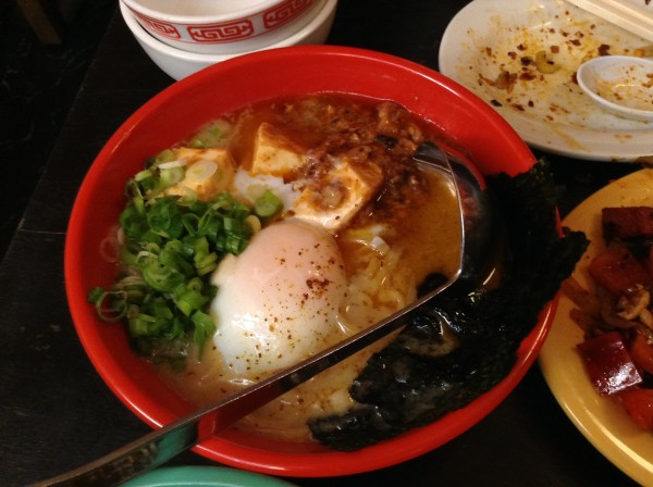 Mission Chinese nyc Mapo Ramen