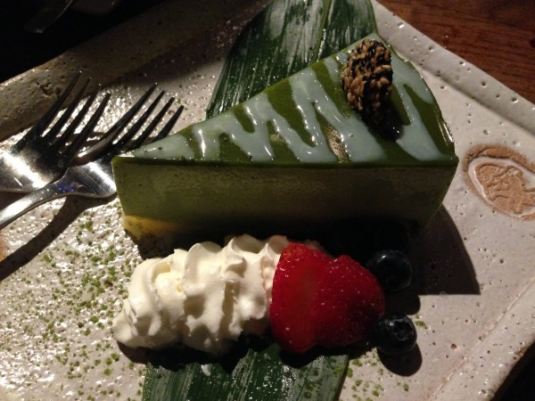 Kingyo Toronto Matcha Green Tea White Chocolate Cake