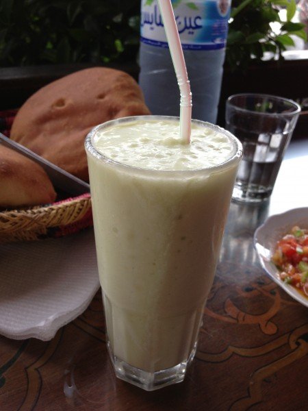 Chez Chegrouni Avocado Smoothie
