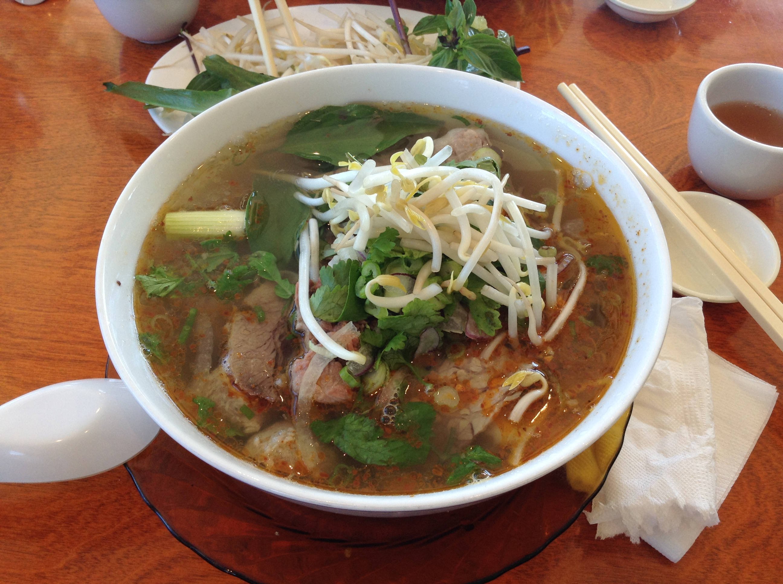 Hung's Special Beef Pho: Tripe, Tendon, Rare and Well Done