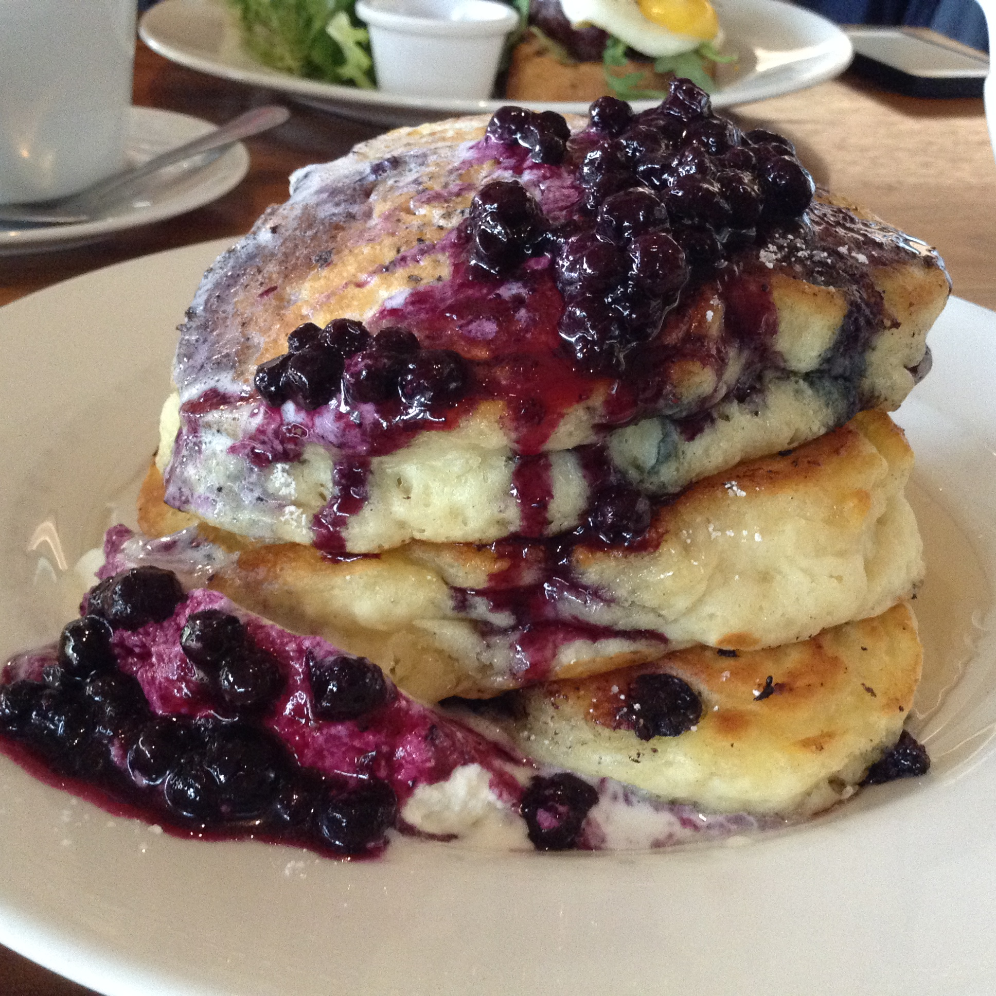 Mrs. Biederhof's Blueberry Buttermilk Pancakes