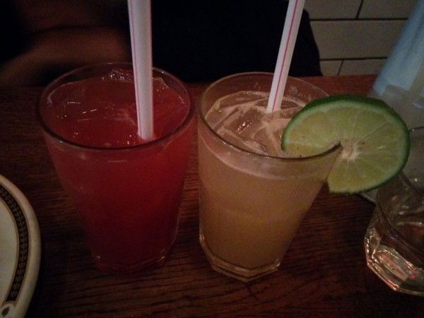 Chimayo Tequila + Apple Cider, Lime Rickey