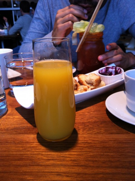 Mildred's Temple Kitchen Mimosa and Caesar