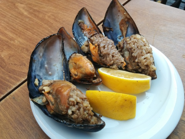 Midye Dolma: Rice Stuffed Mussels