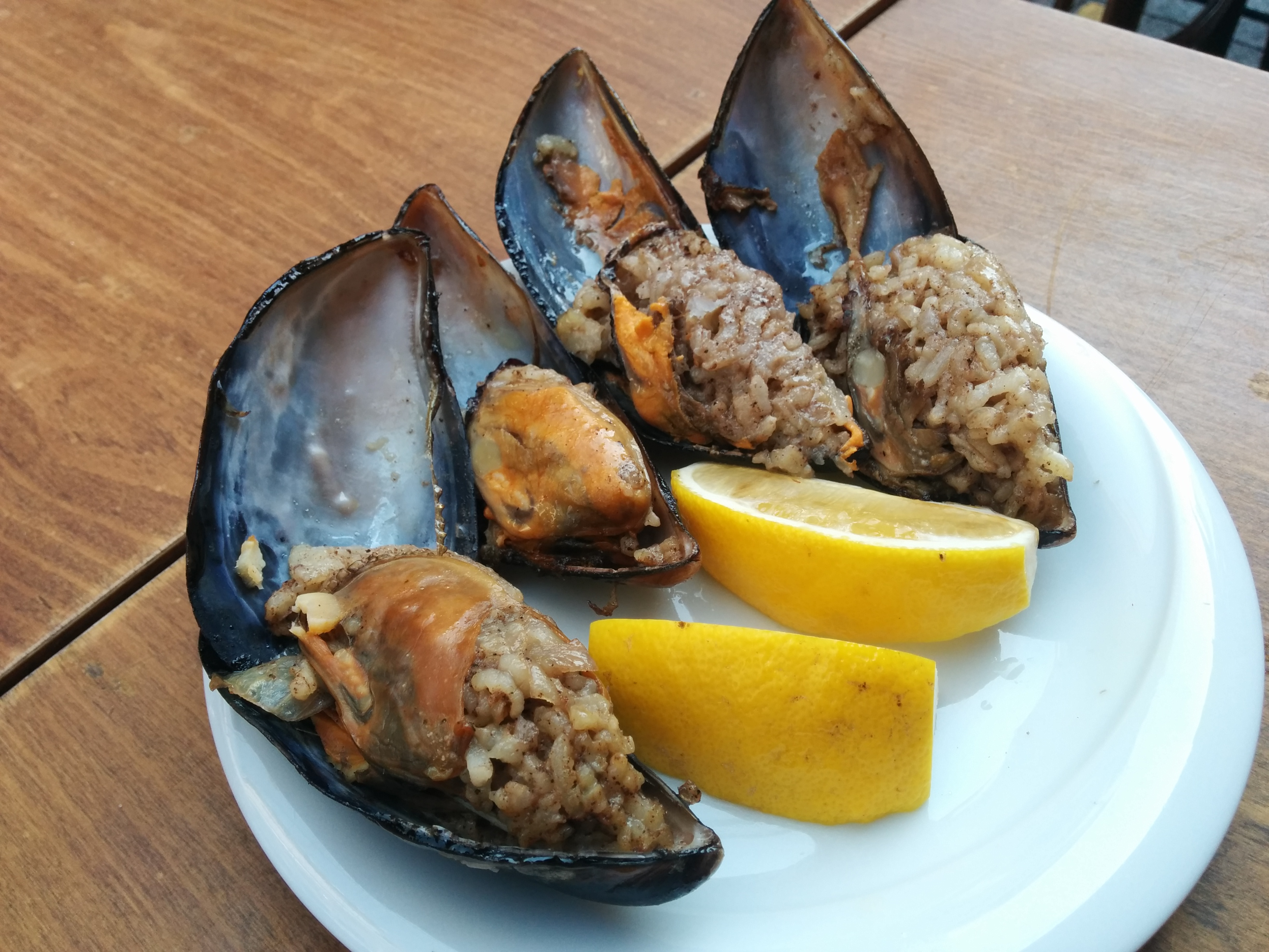 Braised & Confused » Midye Dolma: Rice Stuffed Mussels
