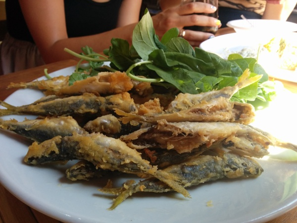 Fried Hamsi (Anchovies)