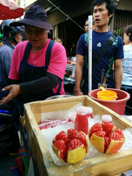 Pomegranate Juice Vendor