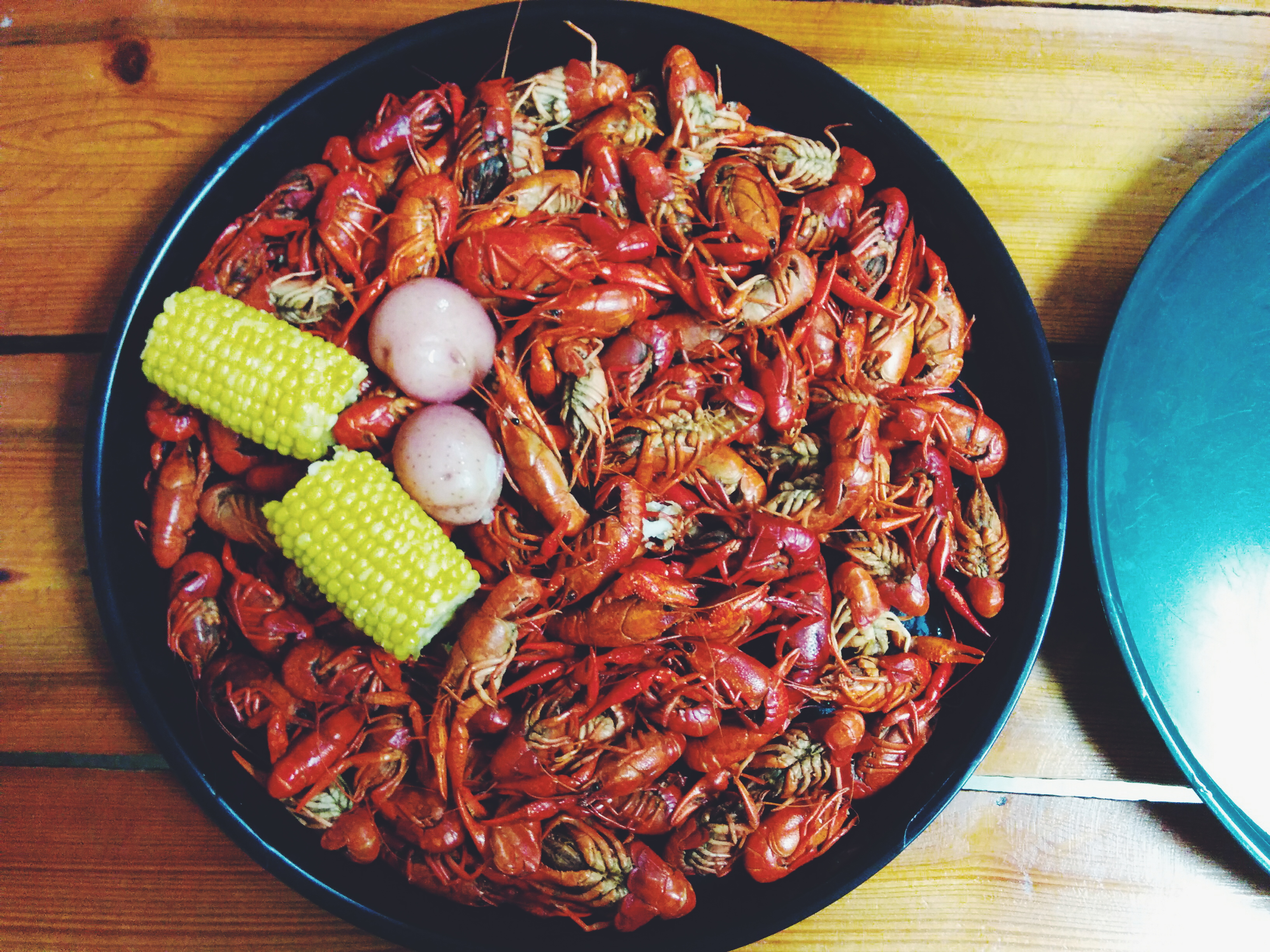 Crawfish, Corn, Potatoes
