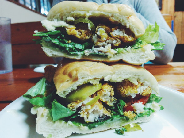 Catfish Po Boy