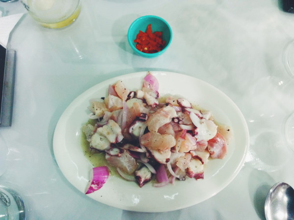 Flounder & Octopus Ceviche