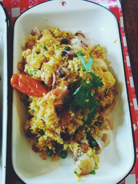 Arroz Norteno (Northern Rice): Seafood Rice
